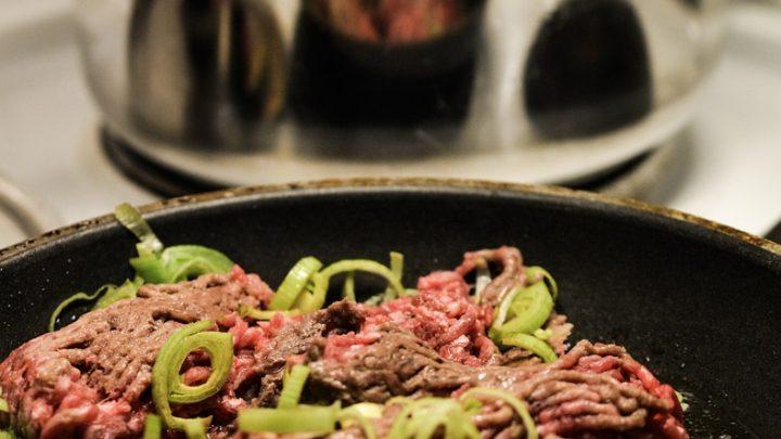 Skręcanie mięsa w restauracjach