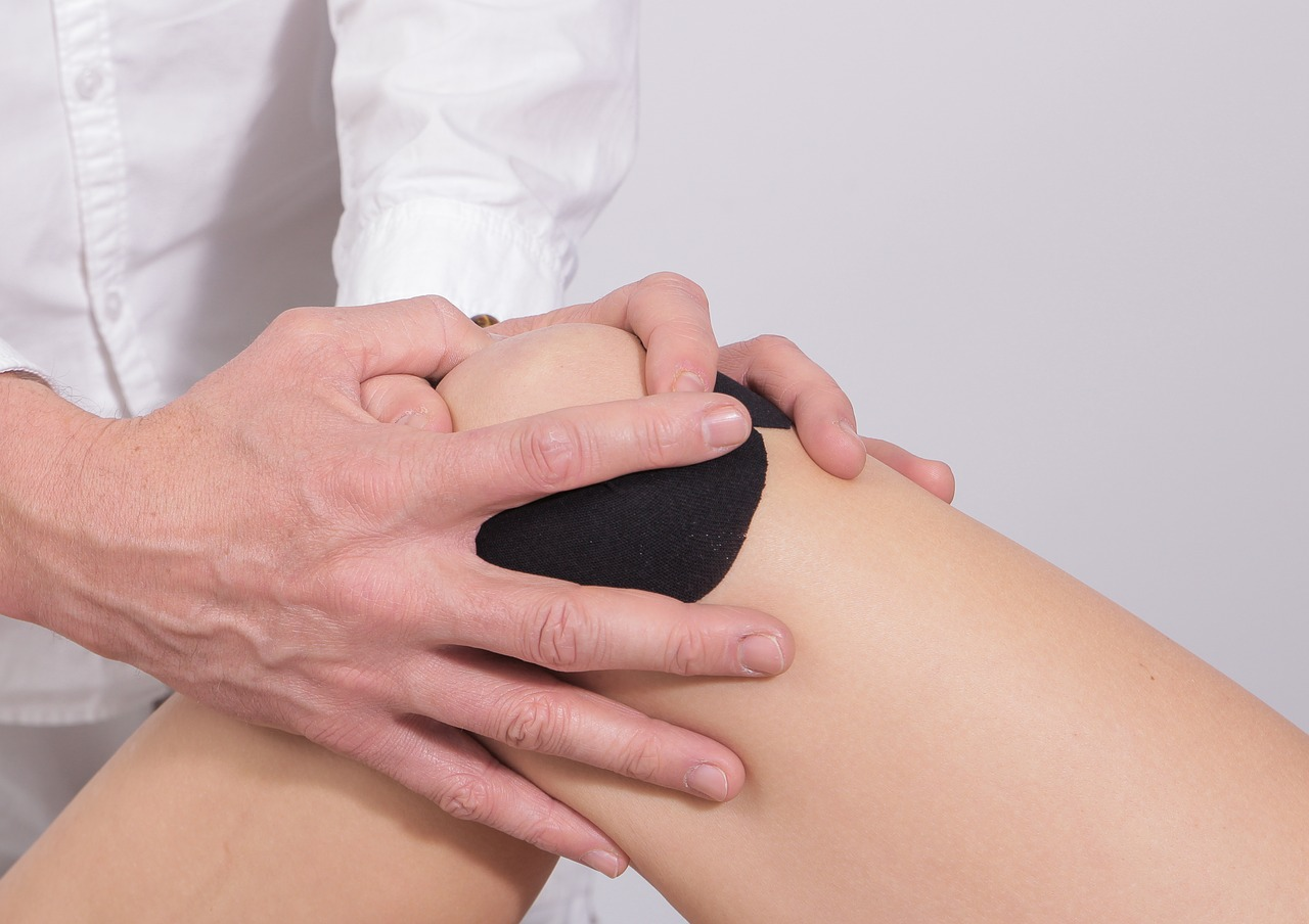 Usztywnienie na kolanie